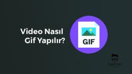 Telefonda Video Nasıl Gif Yapılır?