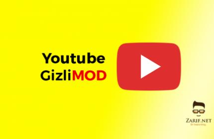 Youtube Android Uygulamasında Gizli Mod Nasıl Açılır?