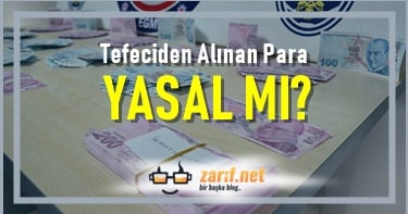 Tefeciden Alınan Para Yasal mı?